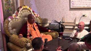 Лекция Гопал Кришна Госвами махараджа, 21 сентября 2014 года.