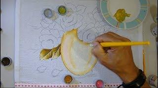 Aprenda Desenhar e pintar Vaso com Rosas – Parte 1