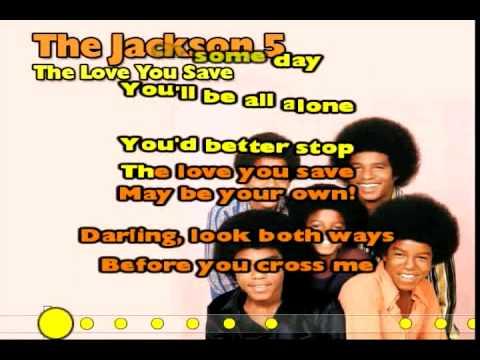 The Love You Save (Jackson 5) Karaoke