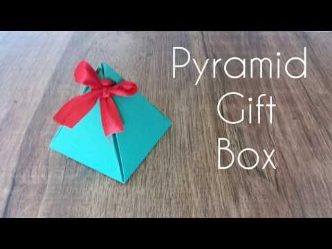 Pyramid Gift Box   DiY 19   Fun Pass