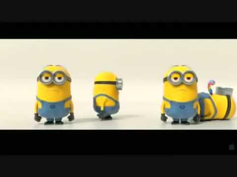 Happy Birthday Minions Style with Banana Song