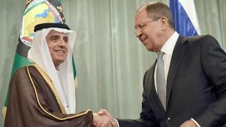 أخبار عربية - #الجبير : تطابق المبادئ السياسية لـ #موسكو و #الرياض يشكل نقطة إنطلاق قوية للعلاقات