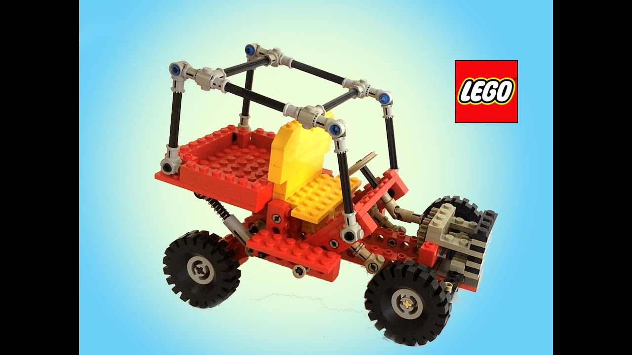 Lego Technic Dune Buggy 8845 Vintage Stop Motion Speed ...