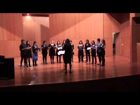 Women´s Choir CSMC (GC) - Five Hebrew Love Songs SA Whitacre