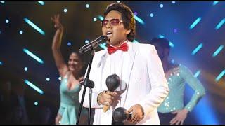 Héctor Lavoe deslumbró a todos al cantar