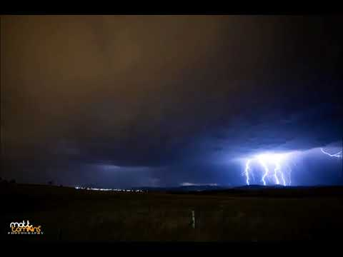 Lightning Over Canberra