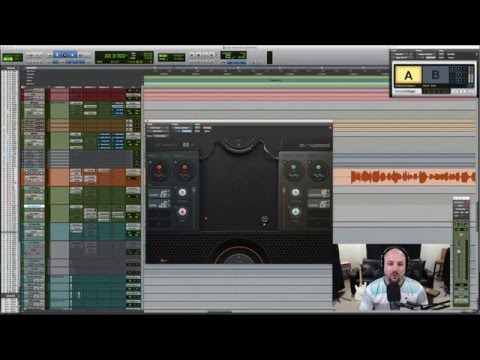 Creating Rhythmic Effects in a Mix with Output Movement