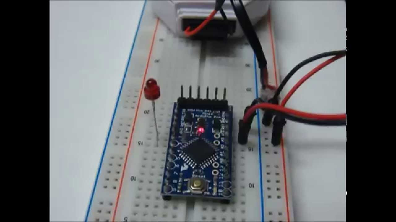 Arduino pro mini with battery youtube