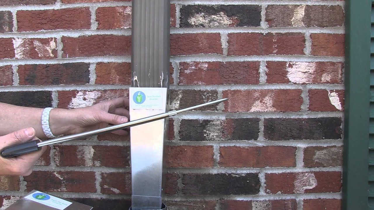 Helpful Hints Cutting The Downspout Youtube