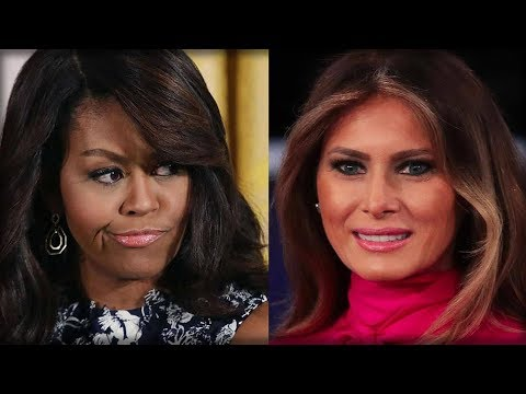 INTERNET EXPLODES OVER MELANIA LUNCH THAT WOULD HAVE LEFT MICHELLE FREAKING