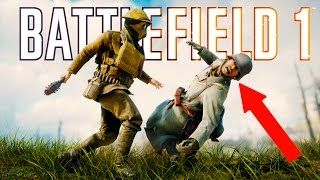 Battlefield 1 - Random & Funny Moments #2 (Funny Faces, Plane Surfing!)
