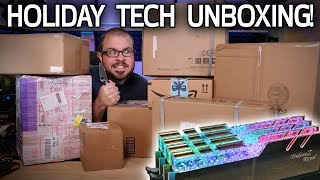 Wondrous Holiday Tech Unboxing!