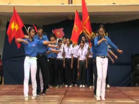 Thanh niên làm theo lời Bác - Văn nghệ khai mạc Hội trại Trường An Phước.flv