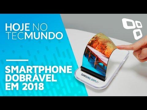 Agora vai? Celular dobrável da Samsung pode chegar às lojas em 2018 - Hoje no TecMundo