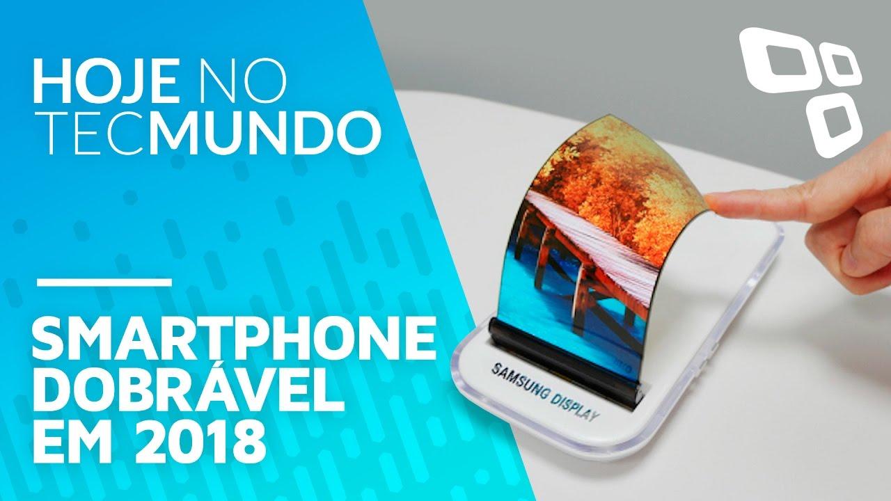 d3b47c85853 Celular dobrável da Samsung pode chegar às lojas em 2018 - Hoje no TecMundo