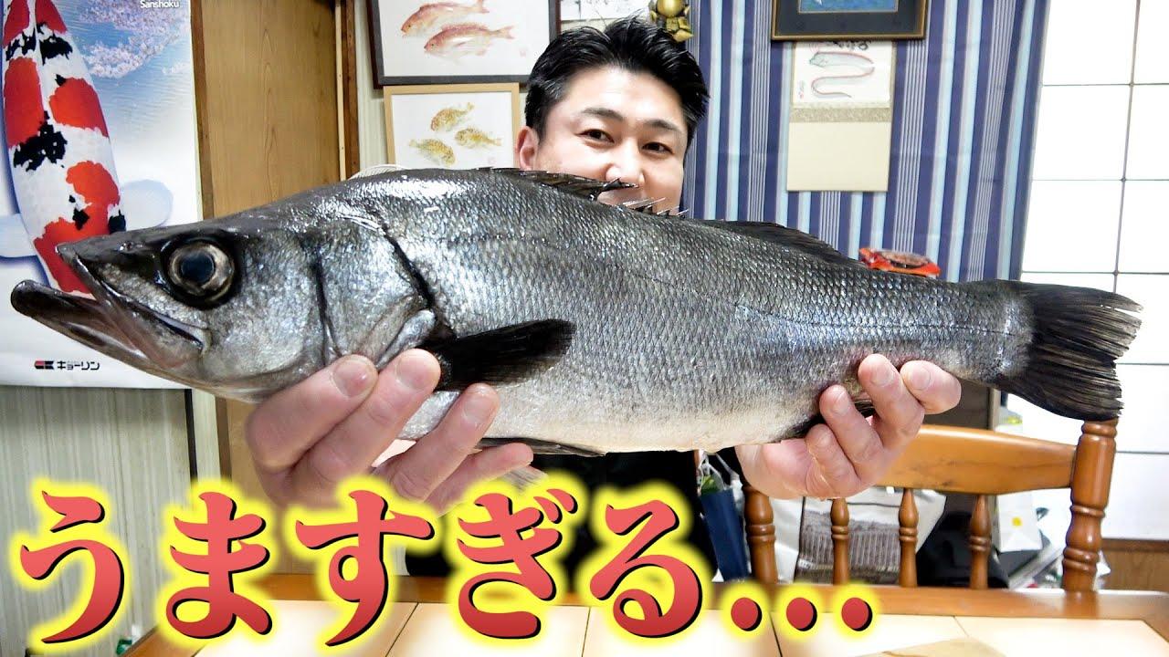 ただのスズキじゃない!高級すぎて滅多に食べられないお魚が感動モノでした!!!