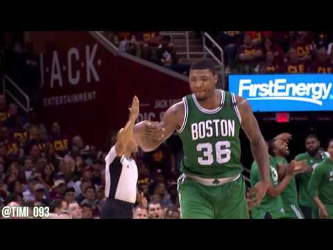 Marcus Smart R3G3 Highlights vs Cleveland Cavaliers (27 pts, 5 reb, 7 ast)