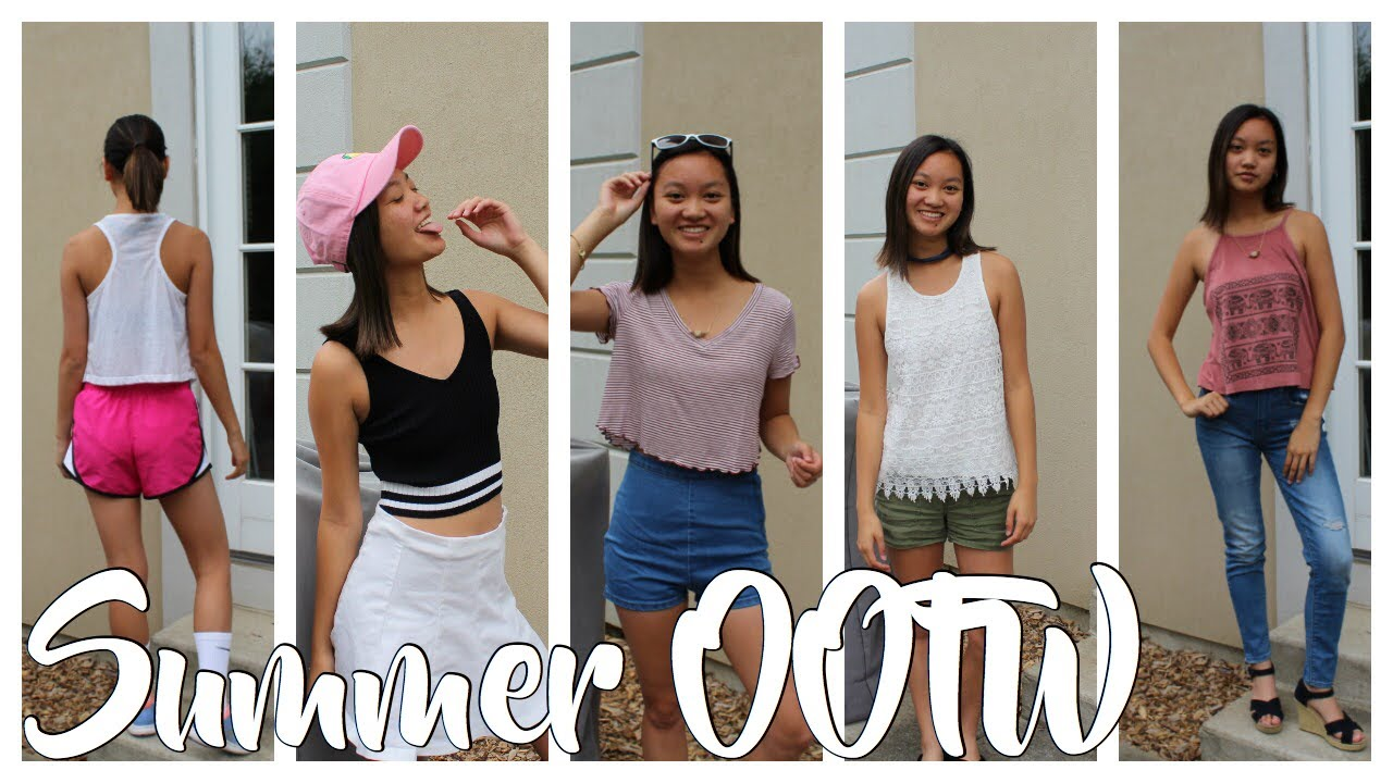 [VIDEO] - Summer OOTW | Summer Outfit Ideas 2017! 2