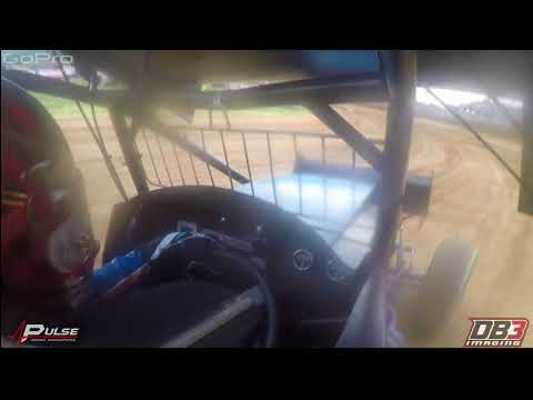 Pulse Racing On-Board: Sheldon Haudenschild  Lawrenceburg Speedway   May 30, 2018