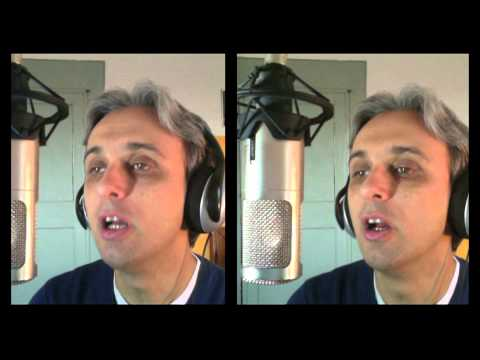 How To Sing a cover of There's a Place Beatles Vocal Harmony Tutorial Harmonies