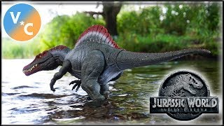 Mattel Jurassic World Extreme Chompin' Spinosaurus Review