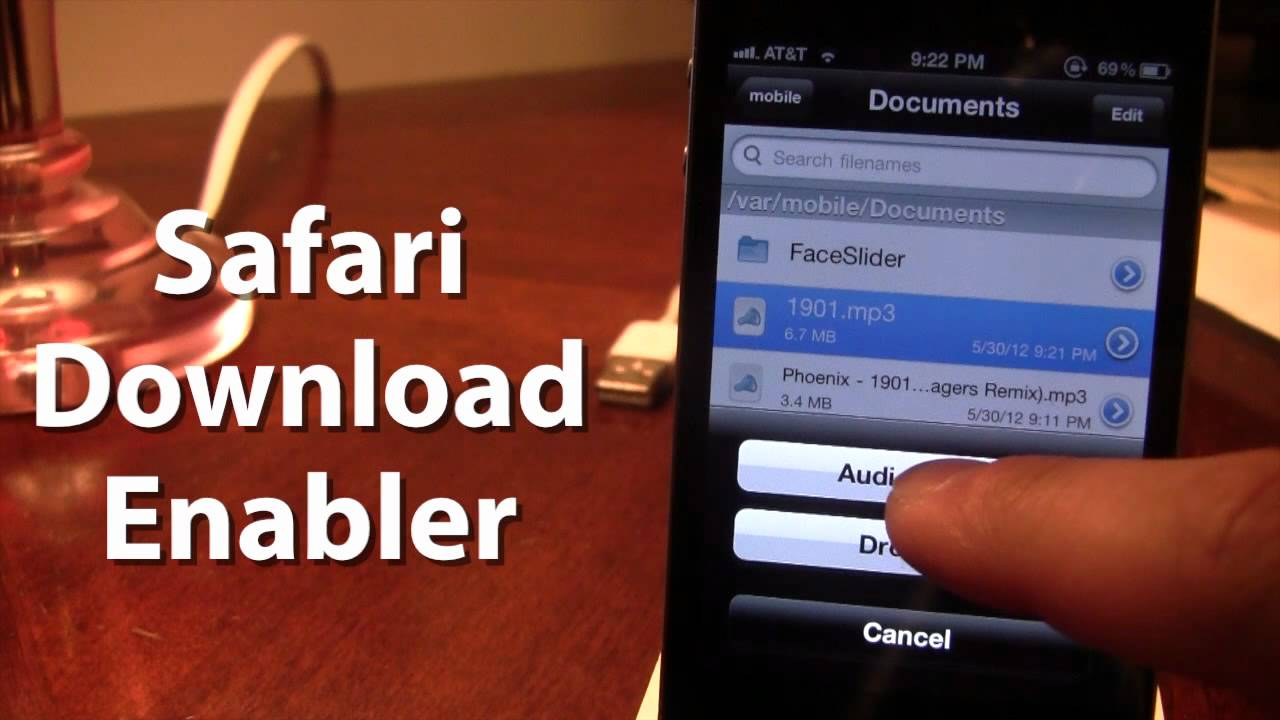 Safari Download Enabler - Download Files From iPhone Safari iOS 5 (Cydia  Tweak)