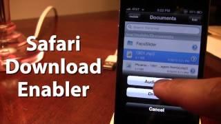 Download Safari Download Enabler - Download Files From iPhone Safari iOS 5 (Cydia Tweak) Mp3 and Videos