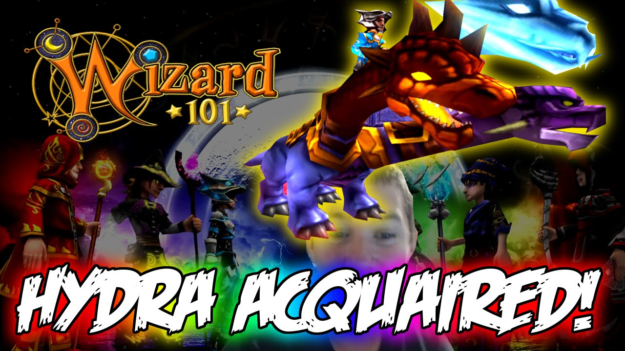 Wizard 101 Getting The Hydra Mount Youtube