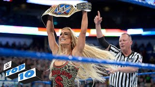 Top 10 SmackDown LIVE moments: WWE Top 10, Apri...