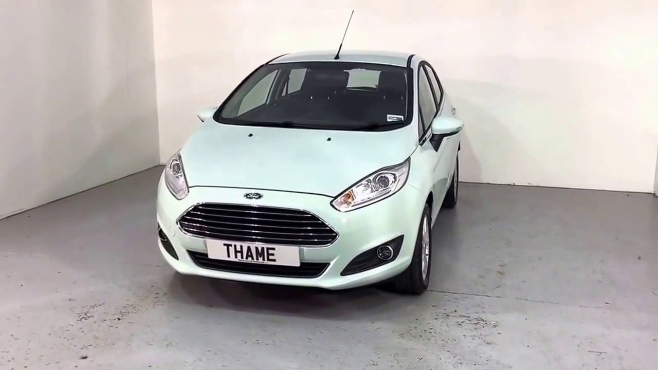 Ford fiesta 1 0 ecoboost 100ps zetec for sale at thame cars