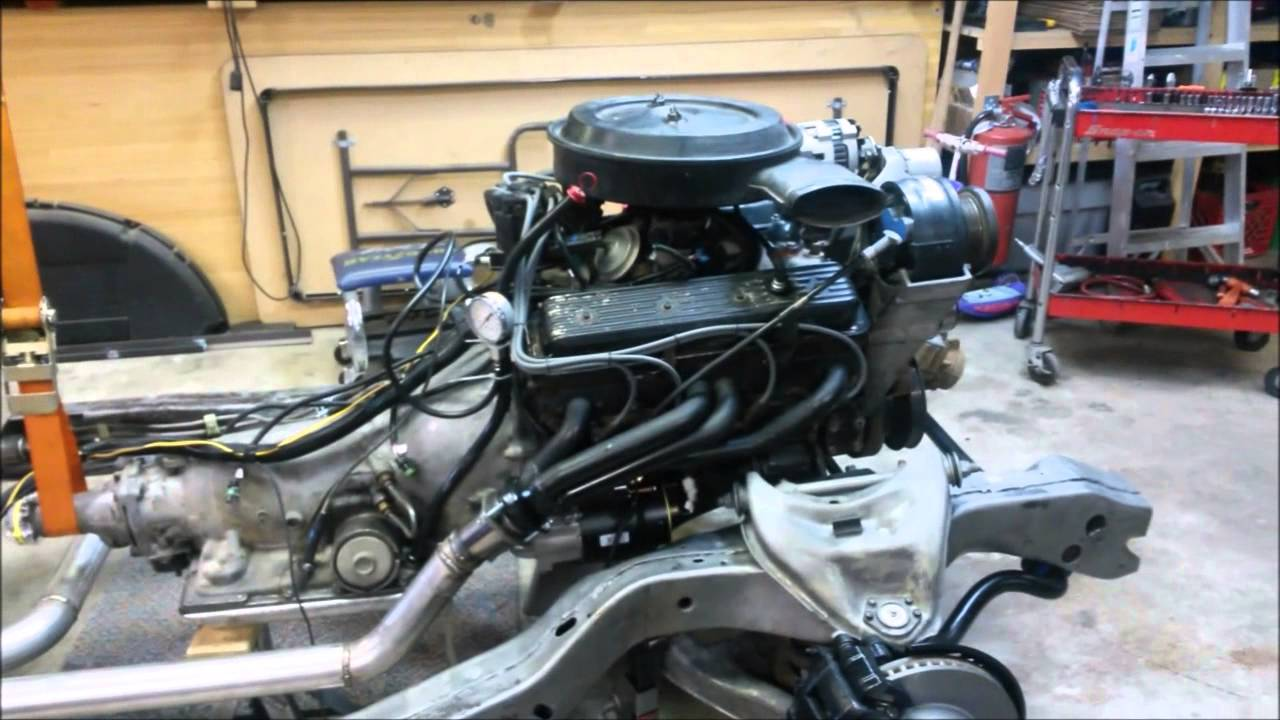 test fire chevy 350 tbi youtube chevy 350 alternator wiring diagram chevy 350 wiring harness [ 1280 x 720 Pixel ]