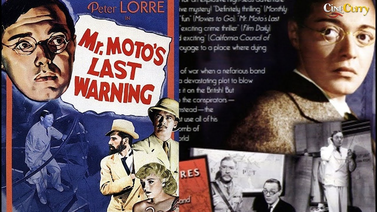 Mr Motos Last Warning | Crime Mystery Drama | Peter Lorre, Virginia Field