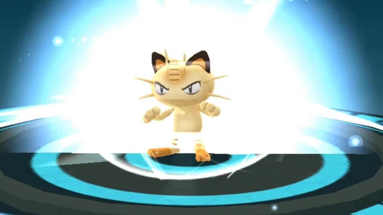 Meowth Evolving Into Persian Pokemon Go Evolving With Iv Calculator