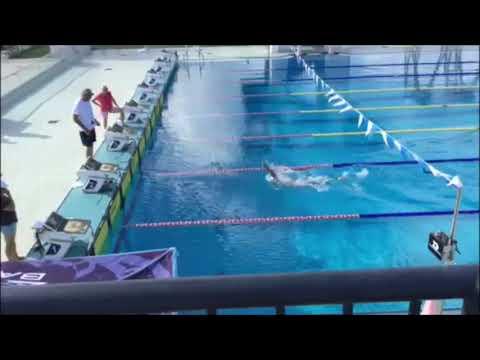Jack Harvey Swimming 200 Backstroke In 2:01.95, July 2020
