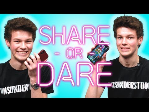 Hayden Summerall Shares What's In His Phone | SHARE OR DARE