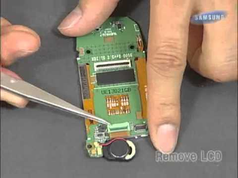 Samsung SGH-D500 Disassembly & Assembly