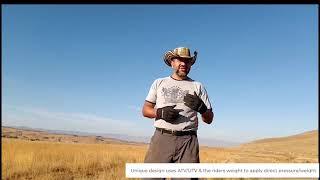 California Fire Defense Plow on Ranch 2020 (Fire Breaks & Weed Control)