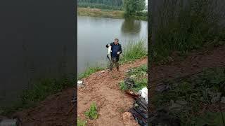 Сом на щучьем пруду Рыбалка в ДУРЫКИНО