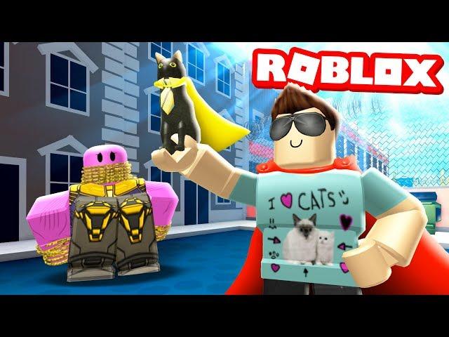 Becoming A Superhero In Roblox - Roblox Superhero Simulator Buxgg Real