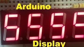 7 Segment Display for Arduino- Tutorial of Sorts