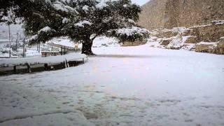 El Rocio del Hermon sobre las montañas de Tsion. Hermo