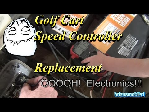 Golf Cart Speed Control Alltrax DCX