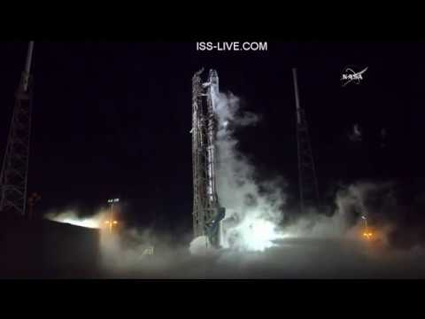 SpaceX Launch of Falcon 9 CRS-15 supply mission to the ISS