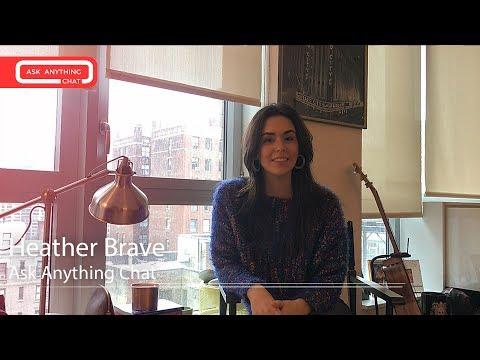Heather Brave Does Her Best Jersey Girl Impersonation & Talks Like A Wave