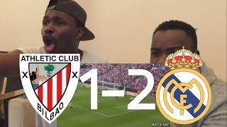 Barcelona Fans React To: Athletic Bilbao vs Real Madrid 1-2 - All Goals La Liga 18/03/2017 HD