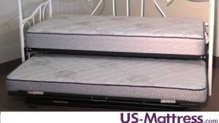What is the maximum height of a mattress that will fit on a Daybed or Trundle Bed?