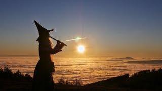 Priscilla Hernandez Flute and singing Improvisation over the clouds