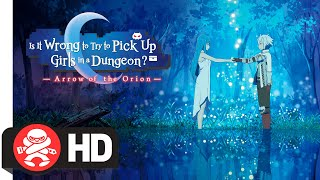 Is it Wrong to Try to Pick up Girls in a Dungeon? Arrow of the Orion Available for Pre-Order Now!