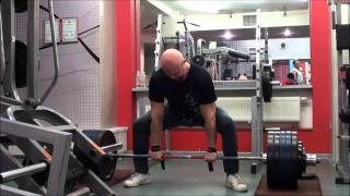 Мотивация и Соревнования. - Становая тяга 250 кг. личный рекорд Юрия