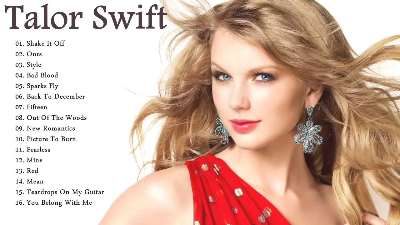 Taylor Swift Greatest Hits New | Best Of Taylor Swift All ...